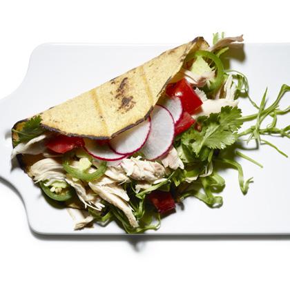 Roast Chicken Soft Tacos