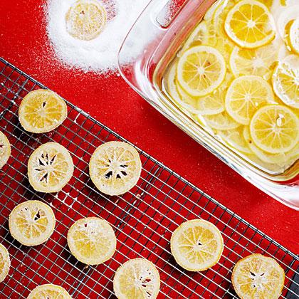 Candied Meyer Lemons
