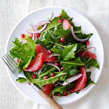 Dandelion and Grapefruit Salad Recipe