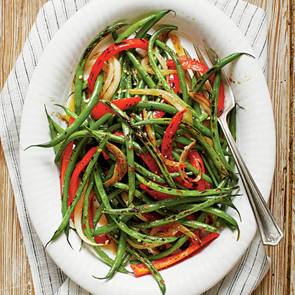 Caramelized Spicy Green BeansRecipe