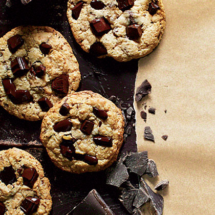 Dark Chocolate Chunk Cookies Recipe - 0 | MyRecipes