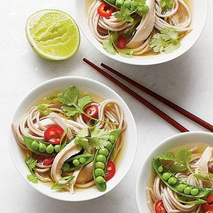 Quick Chicken Noodle Bowls