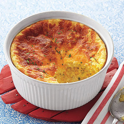 Cheddar-and-Corn Spoon Bread Recipe