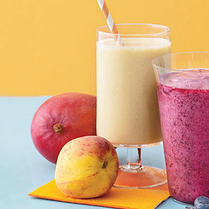 Mango-Peach Smoothie Recipe | MyRecipes