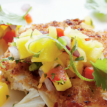 Mango-Pineapple Salsa