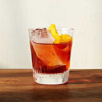 Aged Negroni RecipeThis delicious gin, Campari and vermouth cocktail develops a smooth, deep flavor after being aged in an oak barrel for a month.