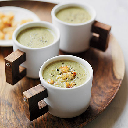 Creamy Roasted Broccoli Soup Recipe