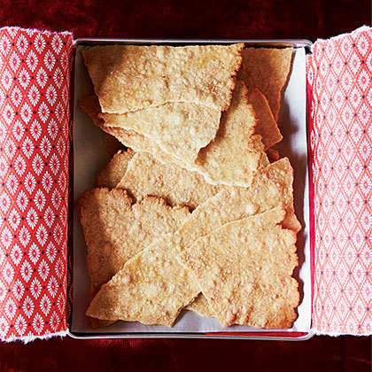 Crispy Whole Wheat-Maple Crackers