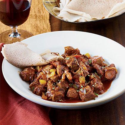 Ethiopian Spiced Lamb Stew
