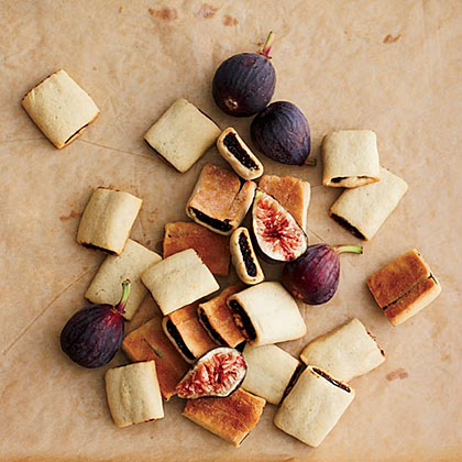 Fig Bars with Red Wine and Anise Seeds