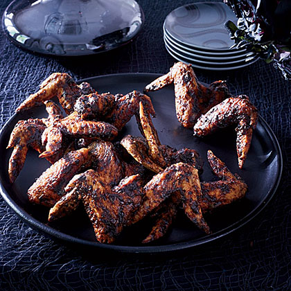 Fried Chicken Wings with Black Bean Sauce