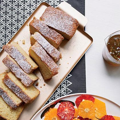 Orange-Scented Buttermilk Cake Loaves Recipe