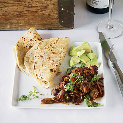 Pork Carnitas with Garlic and Orange Recipe