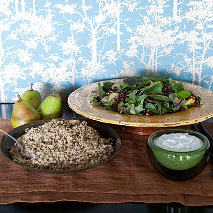 Quinoa-Leek Pilaf