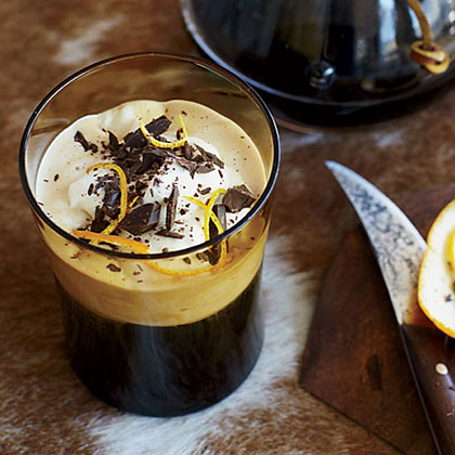 Smuggler's Coffee RecipeThis double rum coffee is deliciously flavored with cinnamon and orange zest.