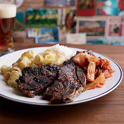Sweet-and-Salty Korean Barbecued Short Ribs Recipe