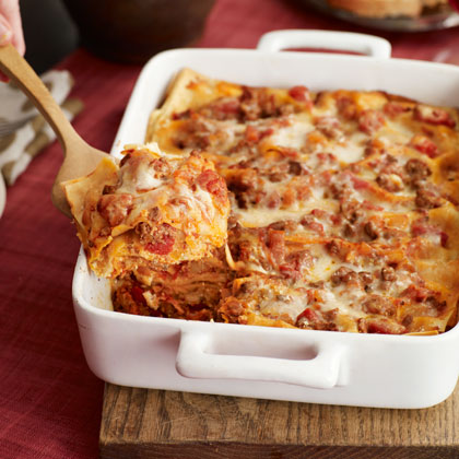 Four-Cheese Lasagna Recipe | MyRecipes.com