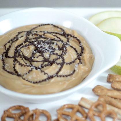 Salted Caramel & Chocolate Dip