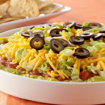 PHILADELPHIA 7-Layer Mexican Dip Recipe
