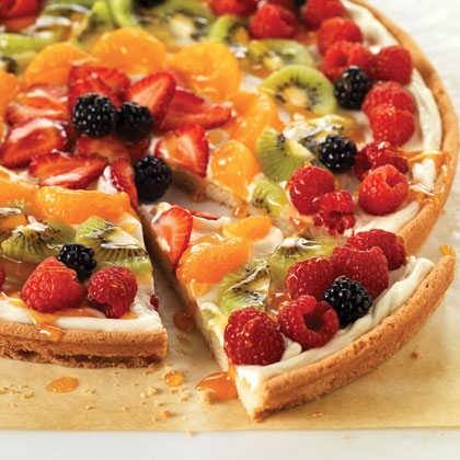 PHILADELPHIA Fruit Pizza Recipe