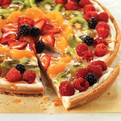 Фруктовая пицца рецепт с фото