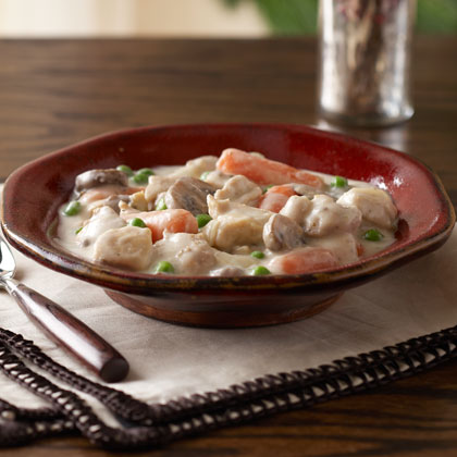 Slow-Cooker Pantry Chicken Stew