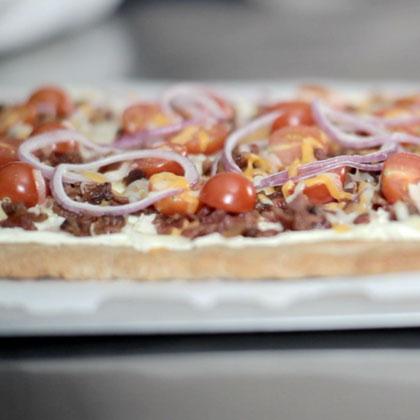 Spicy Jalapeno & Bacon Flatbread Recipe