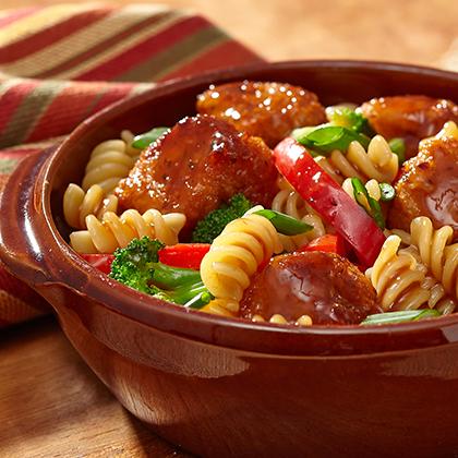 Asian glazed fish pasta recipe for Van de kamp s fish sticks