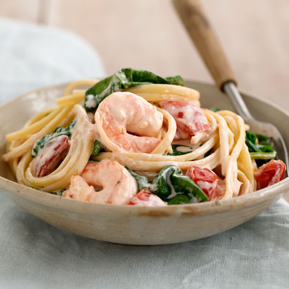 Shrimp-in-Love Pasta
