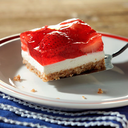 Strawberry Pretzel Squares Recipe