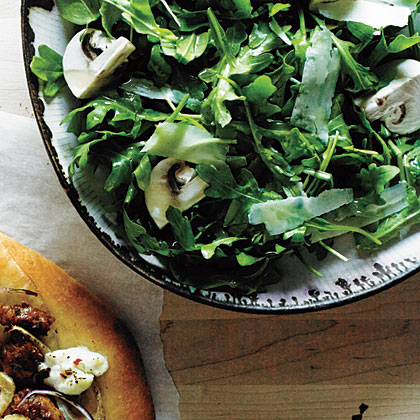 Arugula and Mushroom Salad Recipe