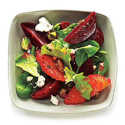 Beet and Blood Orange Salad RecipeYou can use red or golden beets.