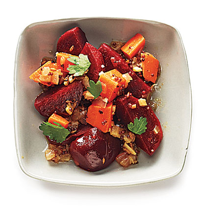 Beets with Toasted Spices