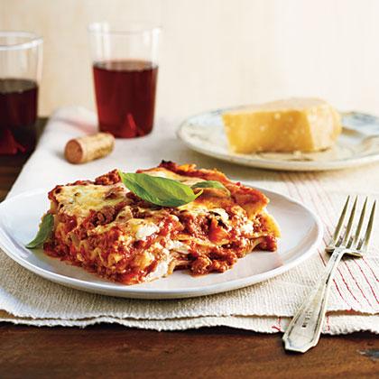 Classic Light Bolognese Lasagna Recipe