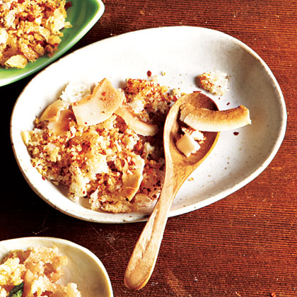 Coconut and Chile Breadcrumbs