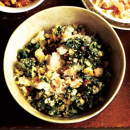 Green Kale Breadcrumbs