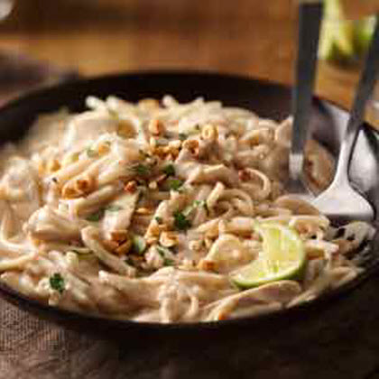 Basil-Chicken Thai Noodle