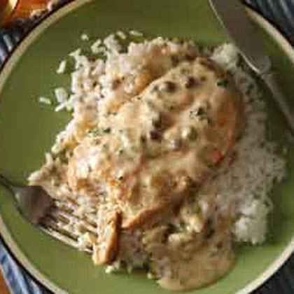 Creamy Chicken Piccata   Recipe