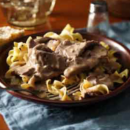 Easy Weeknight Beef Stroganoff   Recipe