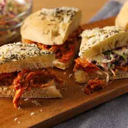 Pulled Chicken Sandwiches