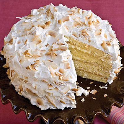 Four-Layer Coconut Cake Recipe