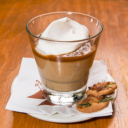 Butterscotch Budino with Caramel Sauce & Sea Salt Recipe | MyRecipes