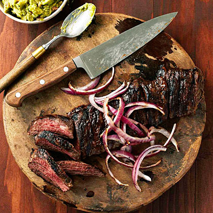 Carne Asada con Mojo (Grilled Beef with Sour Orange Marinade) RecipeCarne asada is a simple dish, but a well-balanced marinade and the right cut can make it a an extremely memorable experience.