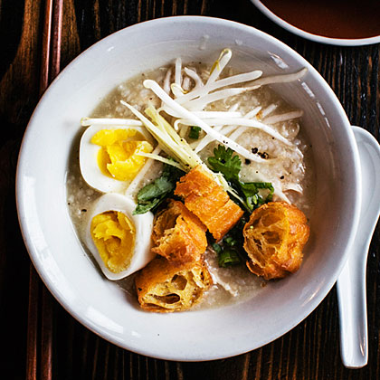 Chicken Congee (Rice Porridge)