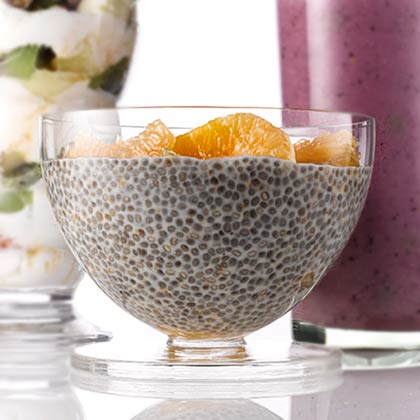 <p>Clemntine Chia Pudding</p>