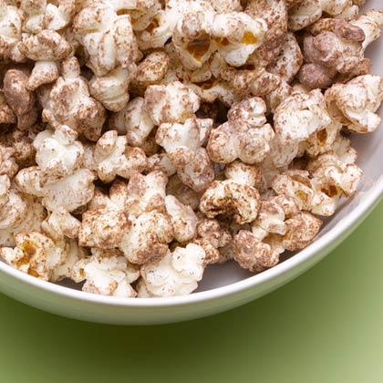 Cocoa Cayenne Popcorn