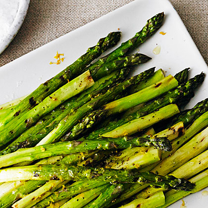 Grilled Asparagus with LemonRecipe