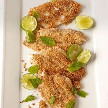 <p>Crisp Sesame Fish Fillets</p>