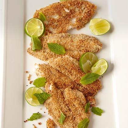 Crisp Sesame Fish Fillets
