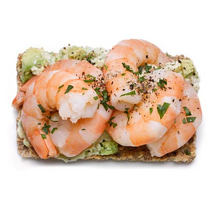 <p>Shrimp Stack</p>